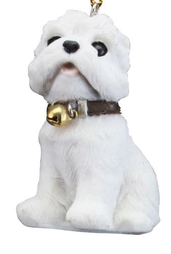 Resin Puppy Decoration - Westie